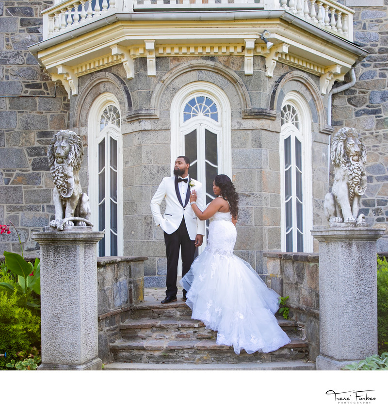 Shantiya & Maurice- Cylburn Arboretum Wedding Photos