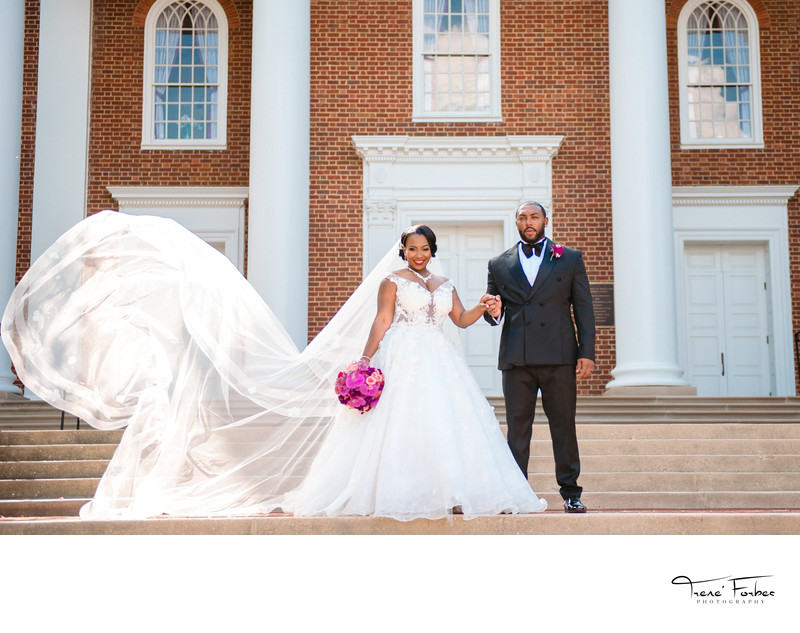 University of Maryland Memorial Chapel Wedding