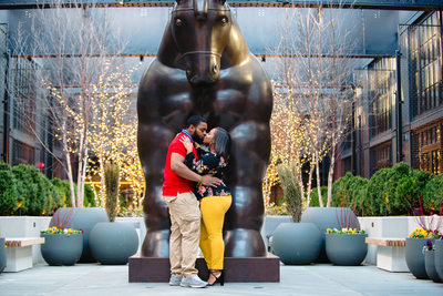Engagement Photos at Sagamore Pendry Baltimore