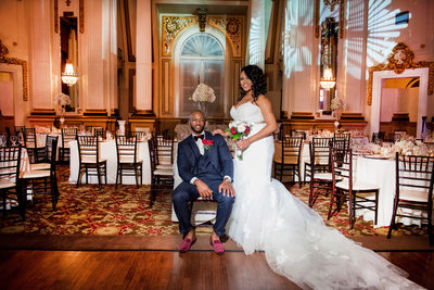 Belvedere Baltimore Hotel Wedding photo