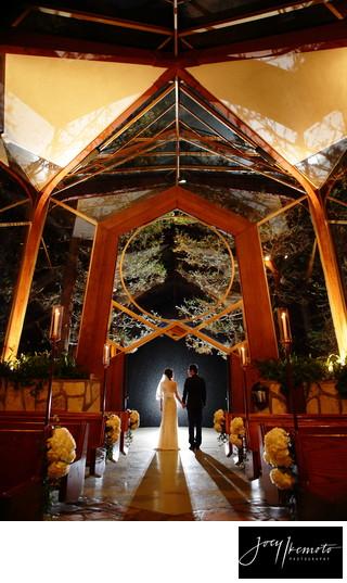 Wayfarers Chapel Wedding.Joey S Weddings