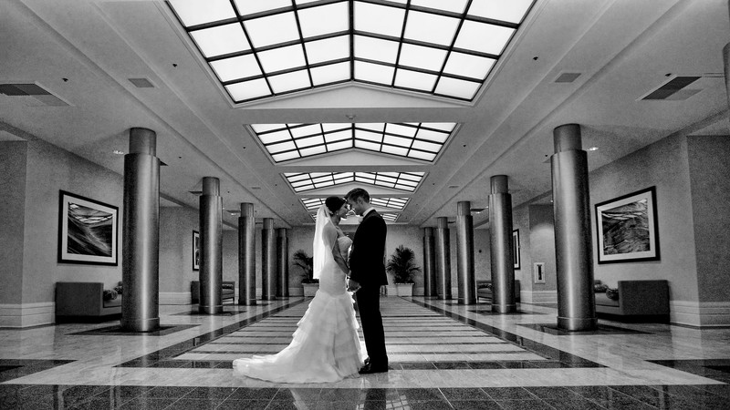 Redondo Beach Crowne Plaza hotel Wedding