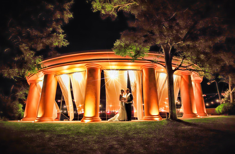 Malibu wedding photographer night shot