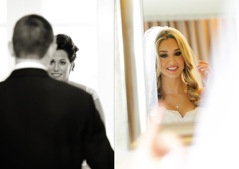 Los angeles wedding photographer bride getting ready