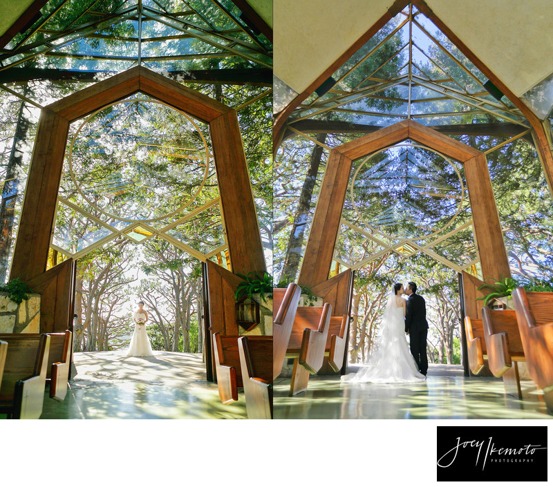Wayfarers Chapel wedding, palos verdes 01