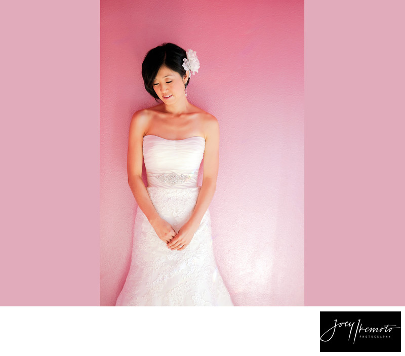 Los angeles wedding photography pretty in pink