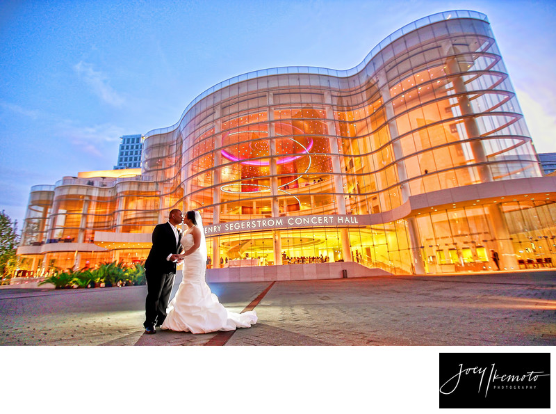 Orange County Wedding Photographers South Coast Plaza
