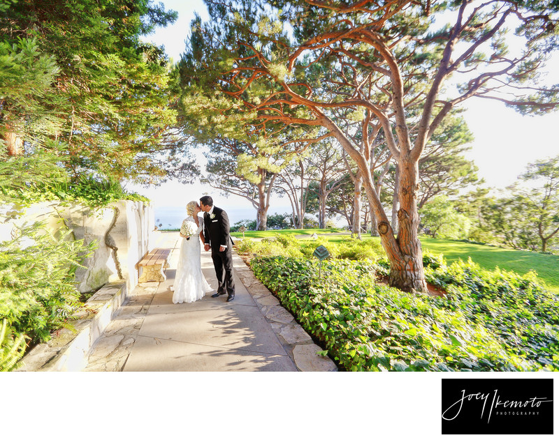 Wayfarers Chapel Wedding, palos verdes 02