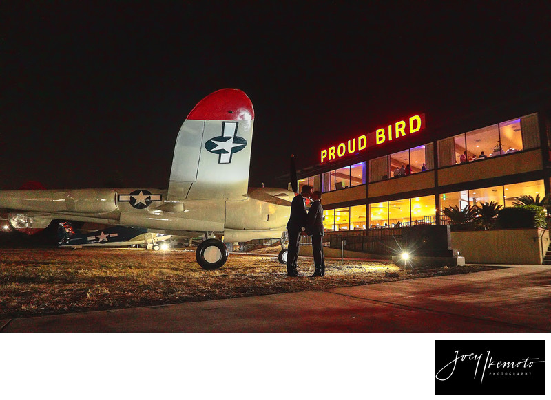 Proud Bird El Segundo Aviation Wedding