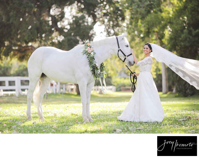 calamigos equestrian burbank wedding