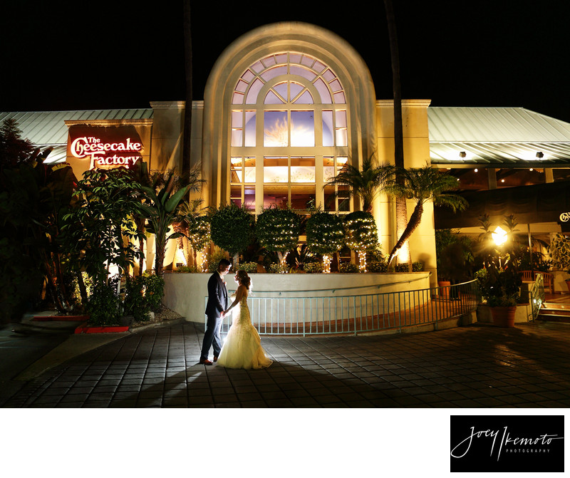 The Cheesecake Factory Redondo beach Wedding