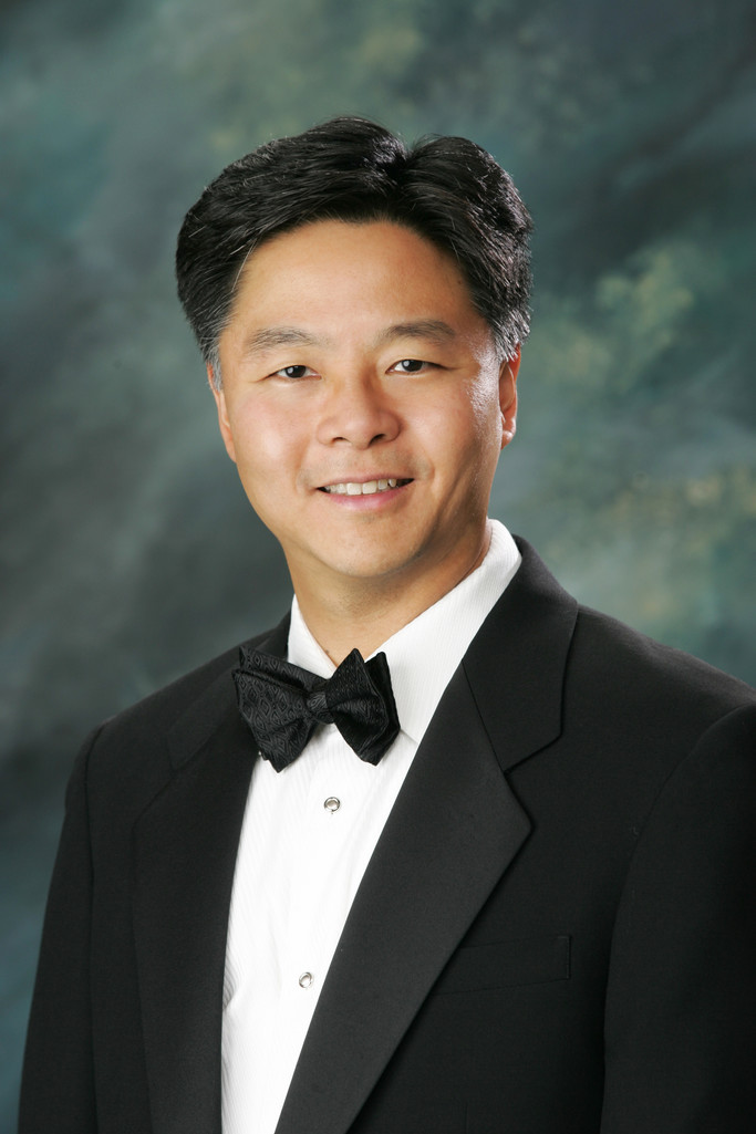 Studio Headshot Photographer Congressman Ted Lieu