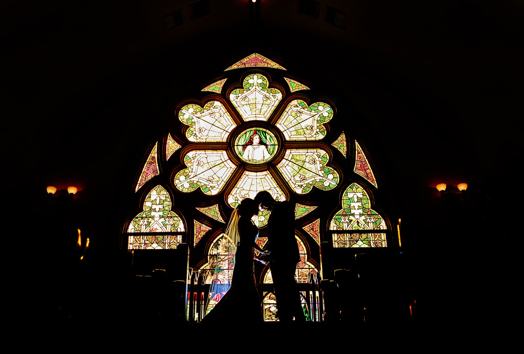 St. John City of Orange Church Wedding