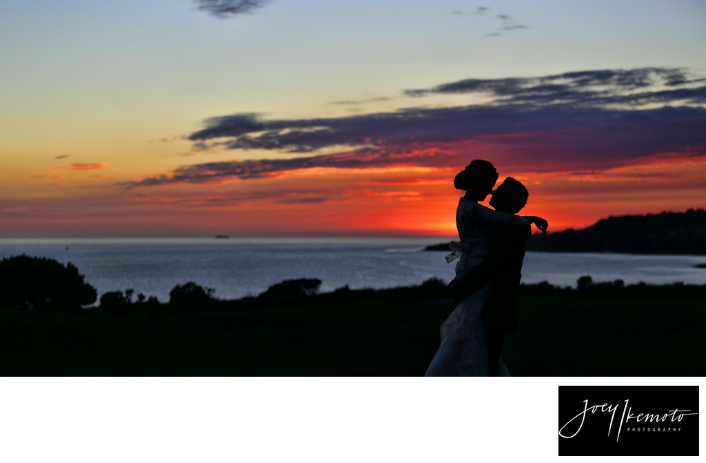Trump International Wedding Sunset