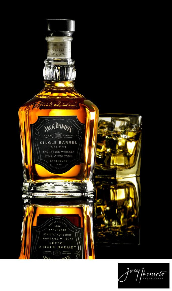 Jack Daniels Product Shot - Products - Joey Ikemoto Photography