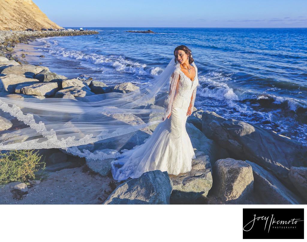 Palos Verdes Beach Wedding Photographer