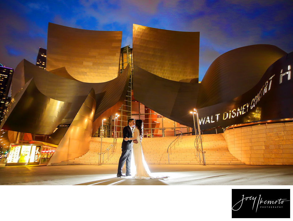 Walt Disney Concert Hall Los Angeles Wedding