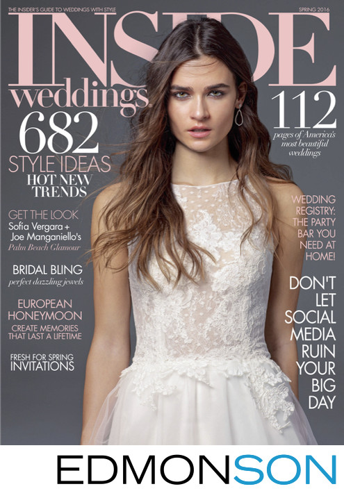 Inside Weddings Spring 2016 Issue PDF Cover