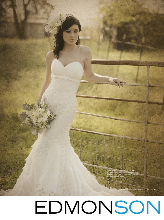 Brides of North Texas Magazine Editorial In McKinney