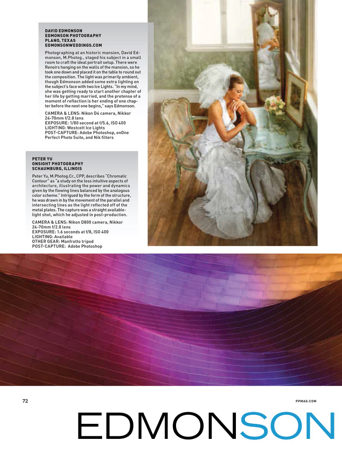 Professional Photographer Magazine Feature