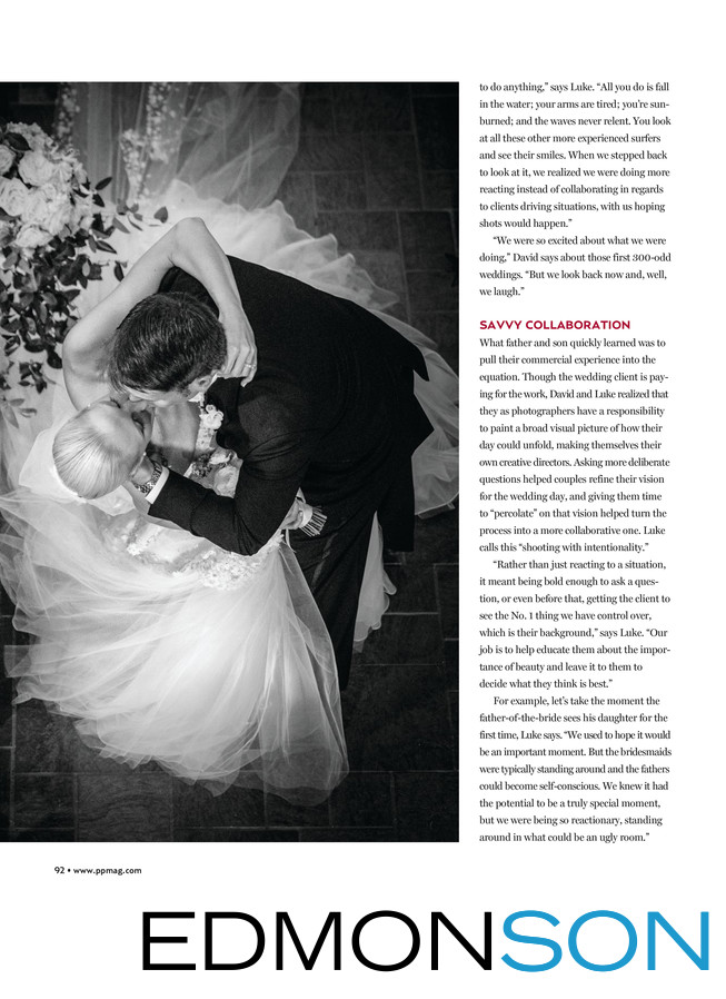 Edmonson Photography In Professional Photographers Mag