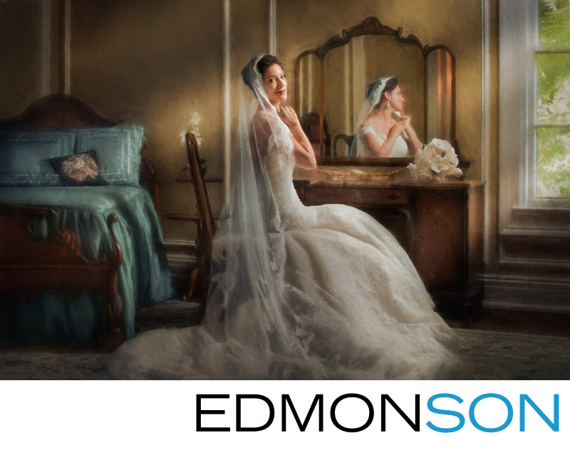 Gorgeous Aldredge House Bridal Portrait In Dallas Texas