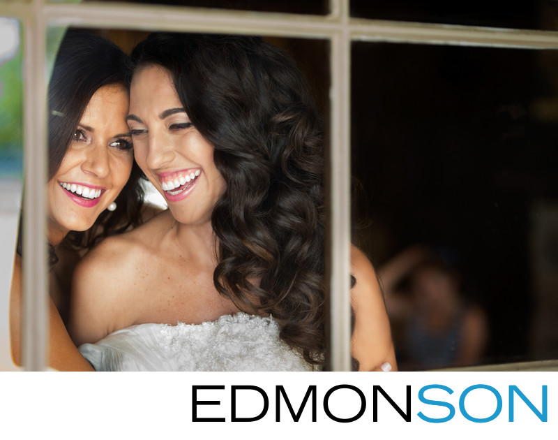 Maid Of Honor Cracks Up With Bride Before Wedding