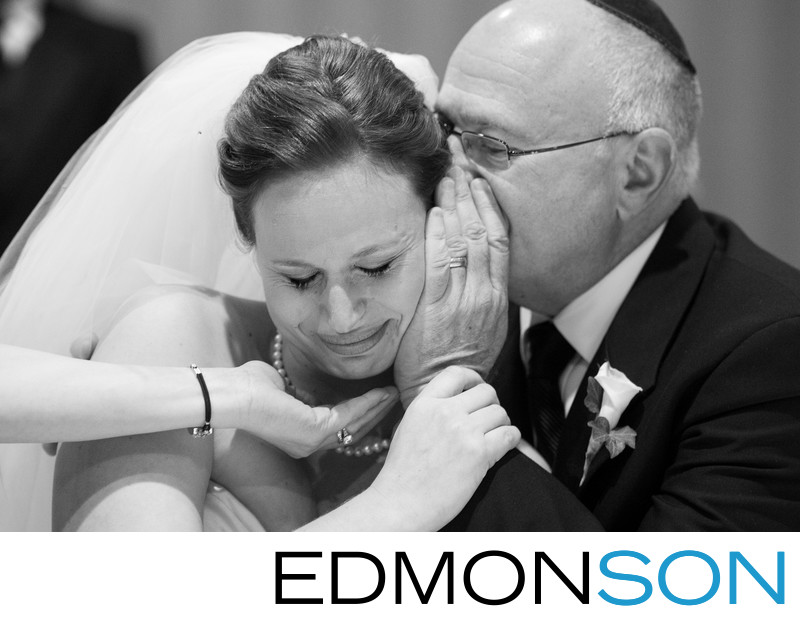 Jewish Father Whispers To His Daughter At Fairmont