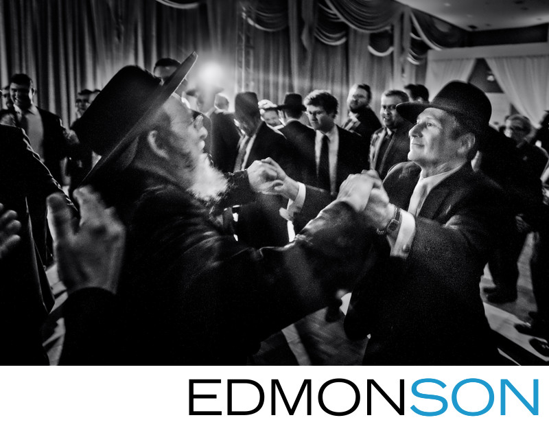 Fairmont Dallas Orthodox Jewish Wedding Hora