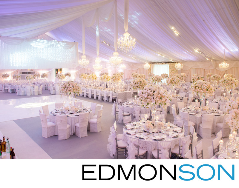 Lavish White Tent Platinum Reception Only In Texas
