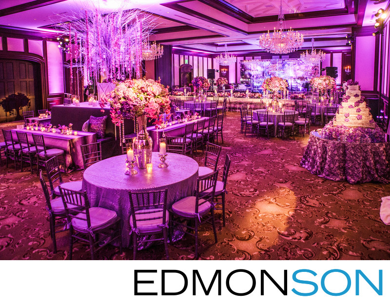 Dallas Country Club Ballroom Reception