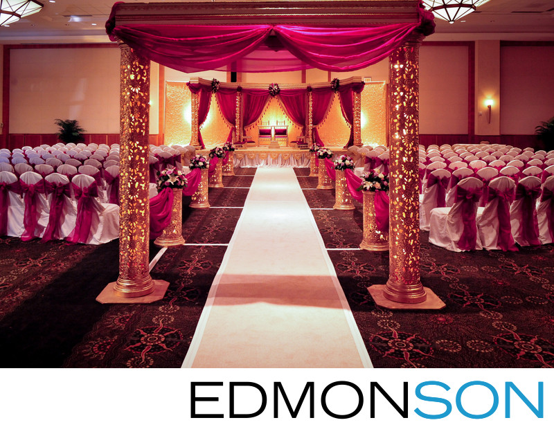 Marriot Legacy Indian Wedding Mandap