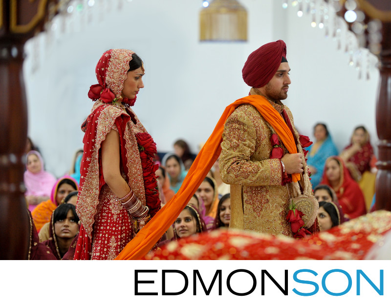 Sikh Temple North Texas Wedding Ceremony Is Beautiful