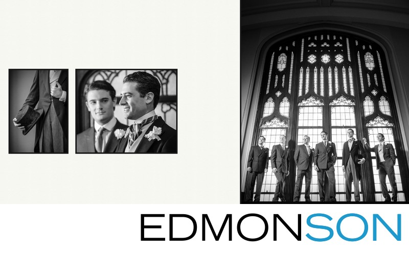First United Methodist Dallas Wedding Portraits