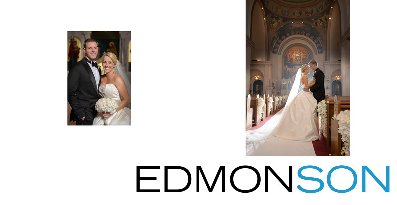Beautiful DFW Greek Orthodox Wedding Album Photos