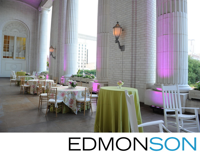 Union Station Wedding Reception Details DFW Events