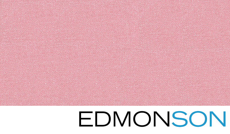Pretty Pink Buckram Wedding Album Cover Swatch Detail