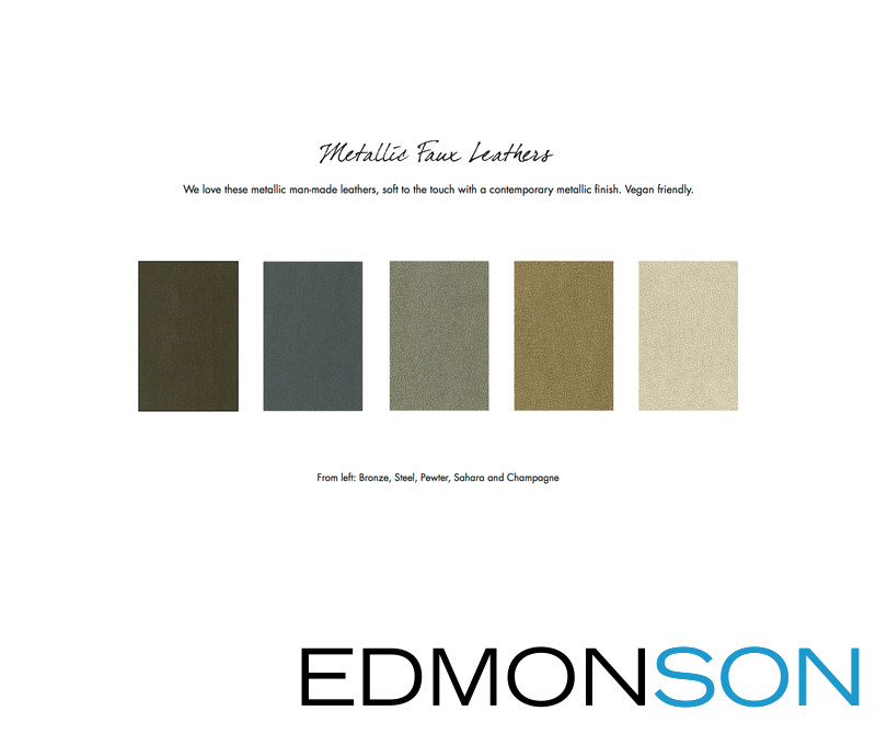 Metallic Faux Leathers Wedding Album Cover Materials