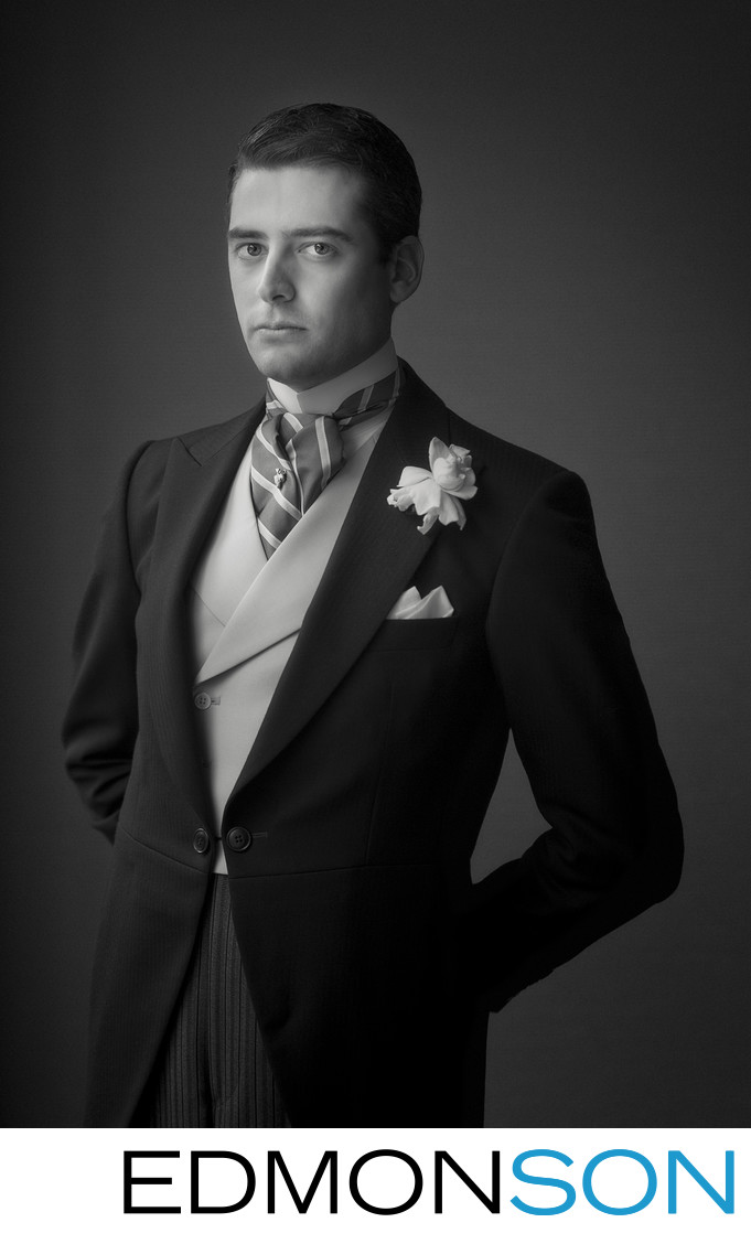 Groom Wedding Portrait Is International Winning Entry