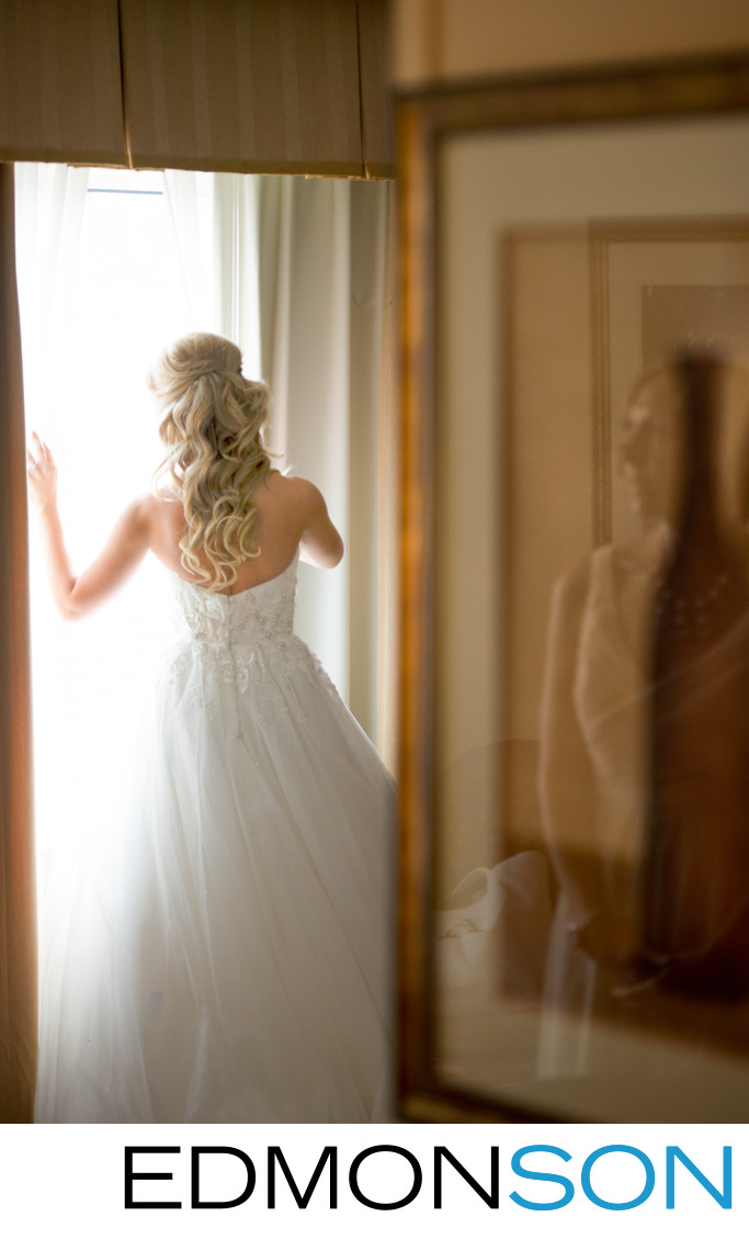 Beautiful Moment Reflects Maid of Honor's Love