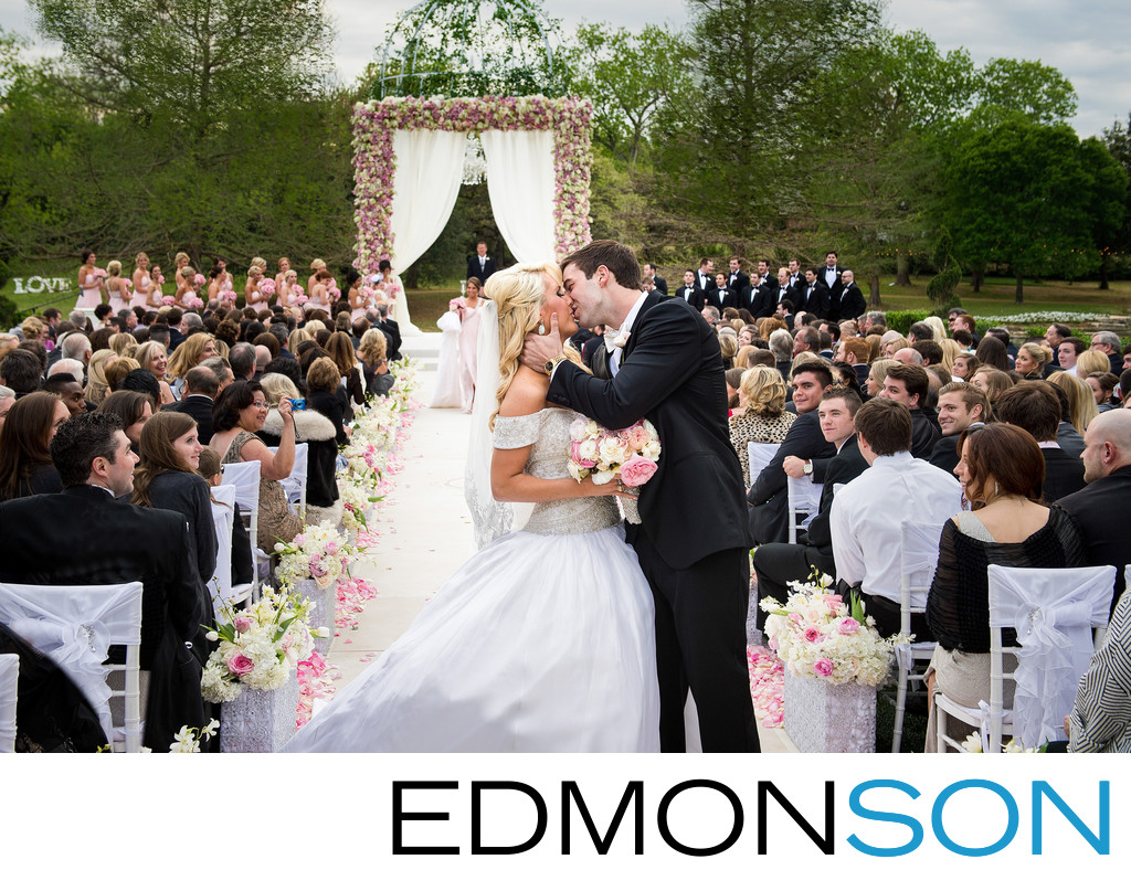 Estate Wedding With Amazing Florals In DFW