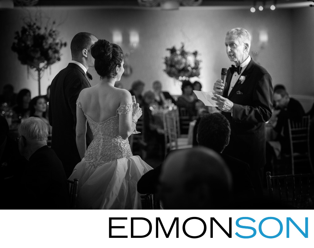 Wedding Reception Speech At Mansion On Turtle Creek