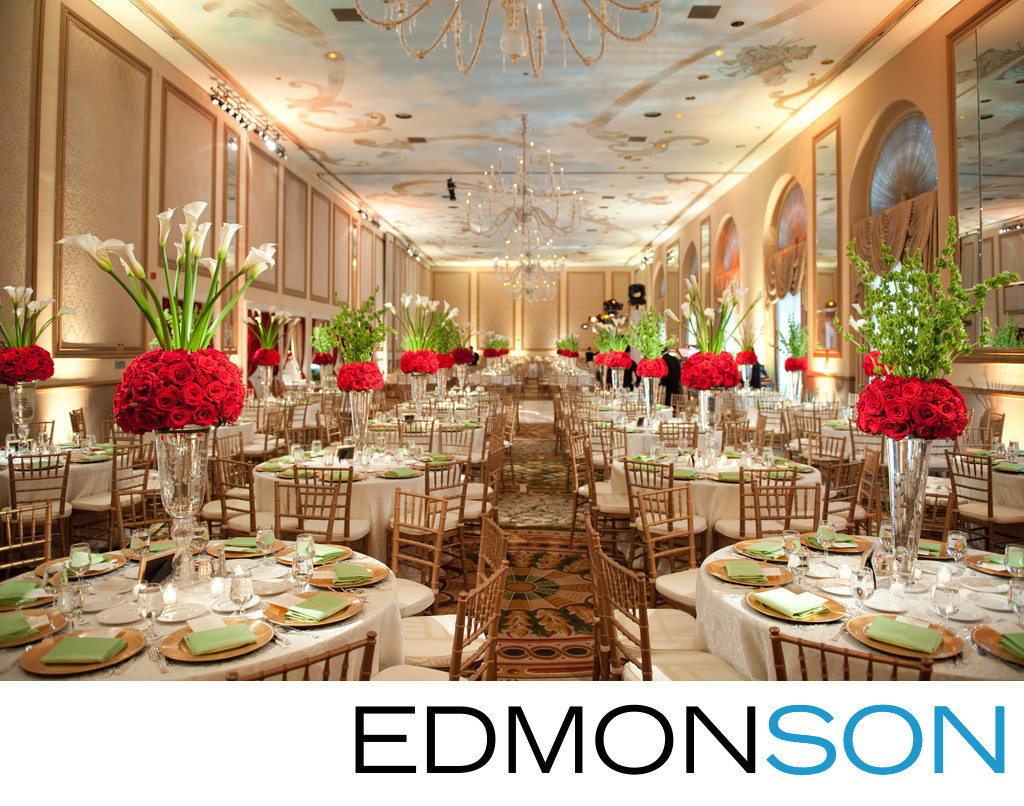 Adolphus Ballroom Wedding Reception