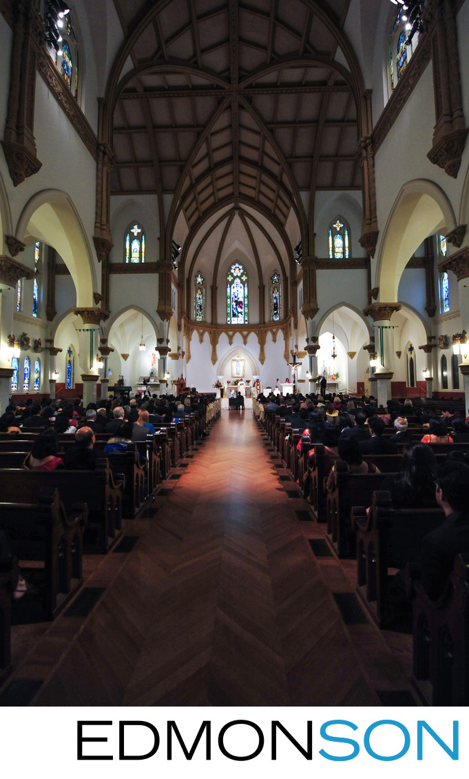 Cathedral Guadalupe Dallas Wedding