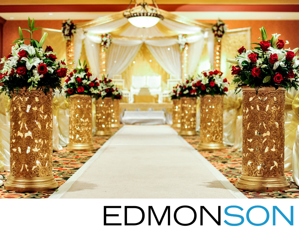 Renaissance Hotel In Tulsa Indian Wedding Mandap