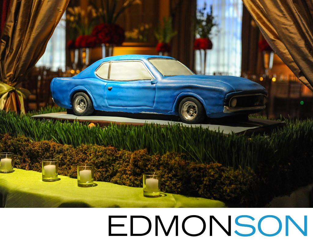 1969 Dodge Barracuda Wedding Cake In Dallas