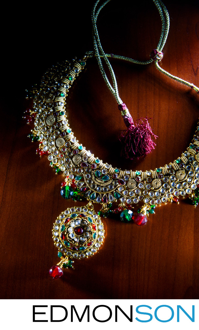 Indian Wedding Jewelry Before Ceremony
