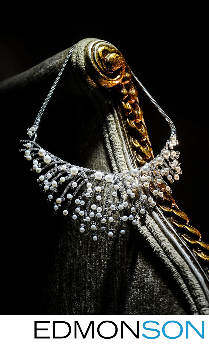 Govindji Diamond & Pearl Necklace