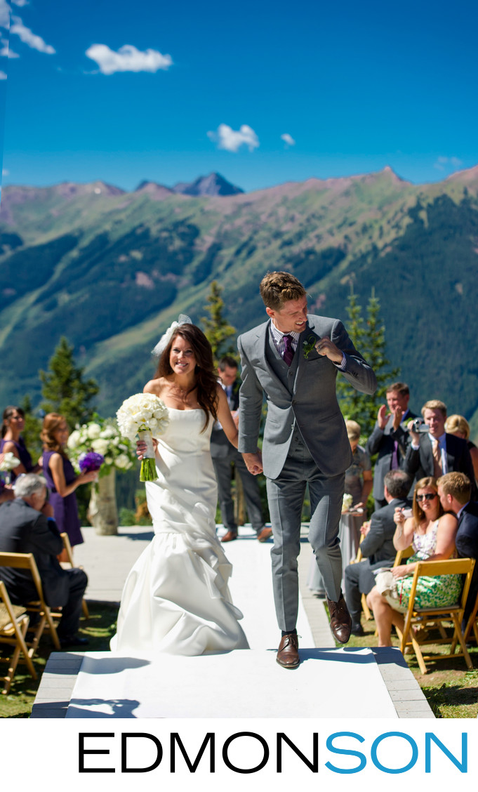 Little Nell Aspen Mountain Wedding Ceremony