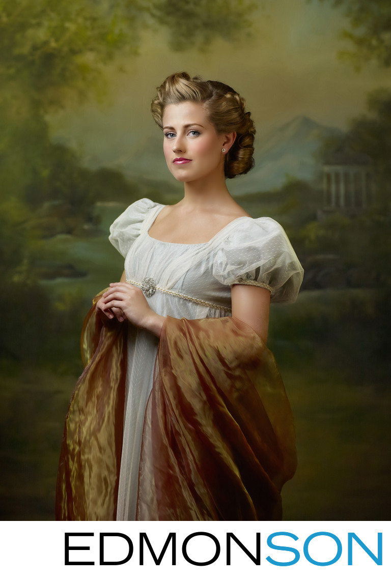 Jane Austen Photo Tribute To Regency Period Women